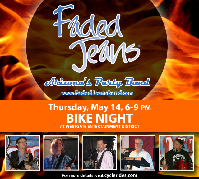 Faded Jeans at Bike Night!