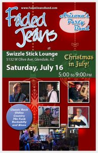 Christmas in July at the Swizzle Stick!